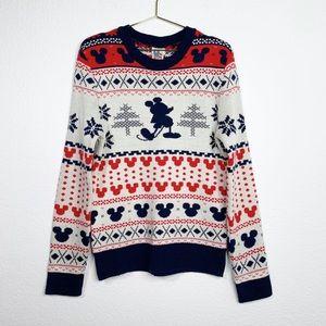 Junk Food Fair Isle Mickey Sweater
